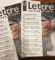 Lettre International Maria Anna Potocka